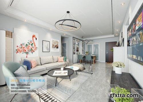 Modern Style Livingroom 105 (2019)