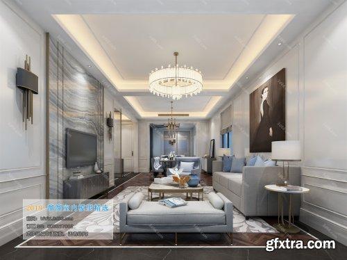 Modern Style Livingroom 108 (2019)