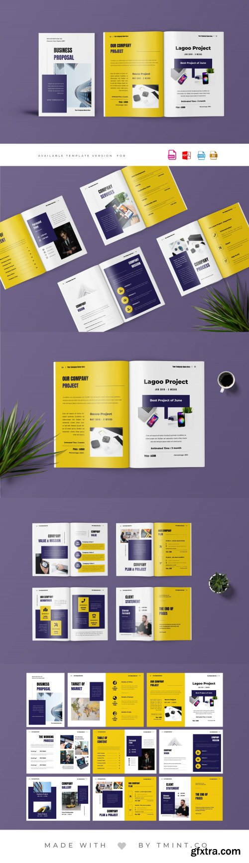 CreativeMarket - Project Proposal Template 4064441