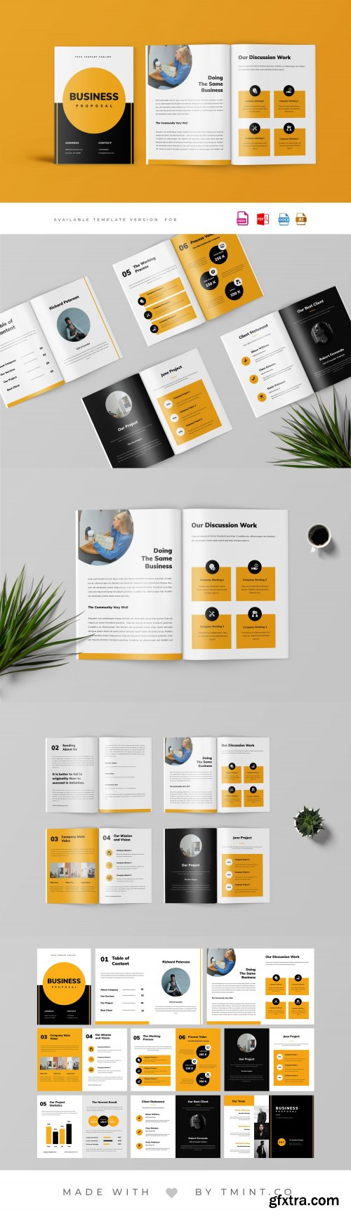 CreativeMarket - Project Proposal Template 4064450