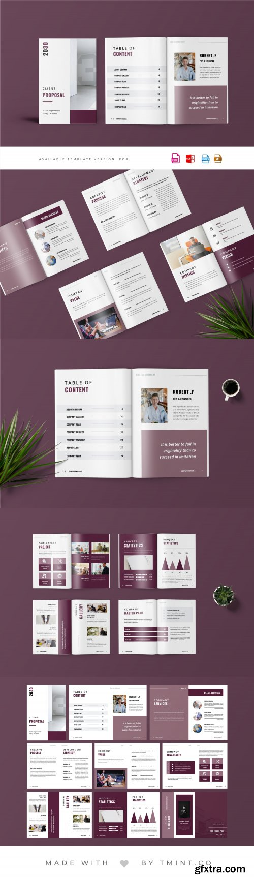 CreativeMarket - Project Proposal Template 4064456