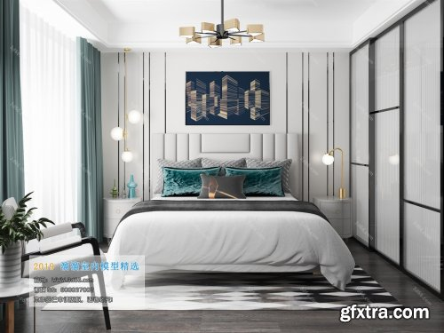 Modern Style Bedroom 97 (2019)