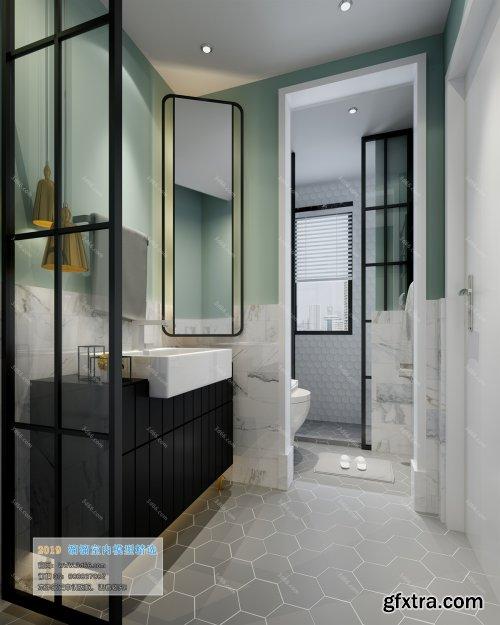 Modern Style Bathroom 34 (2019)