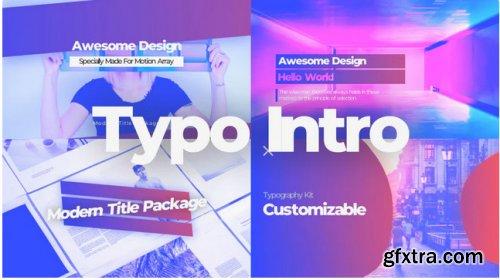 Typo Intro 290175