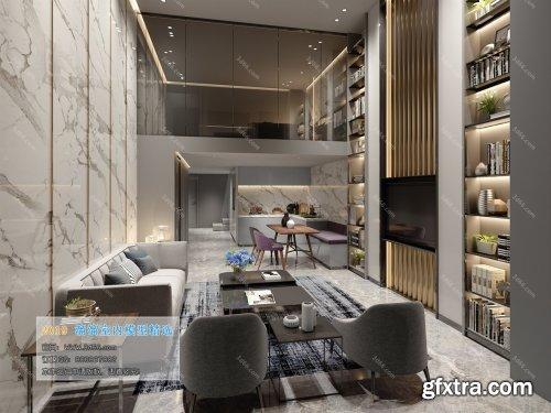 Modern Style Livingroom 113 (2019)