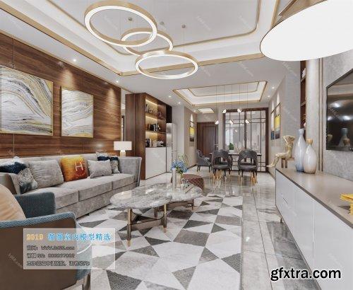 Modern Style Livingroom 116 (2019)