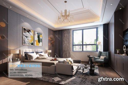 Modern Style Bedroom 100 (2019)