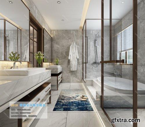 Modern Style Bathroom 35 (2019)