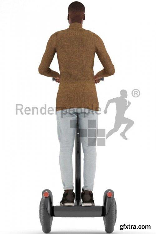 Henry Posed 013 3D Model