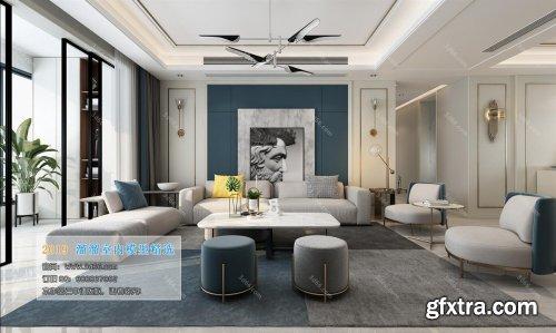 Modern Style Livingroom 119 (2019)