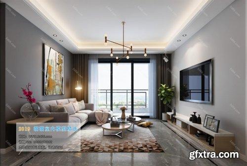 Modern Style Livingroom 120 (2019)