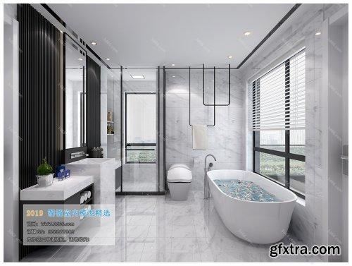 Modern Style Bathroom 37 (2019)