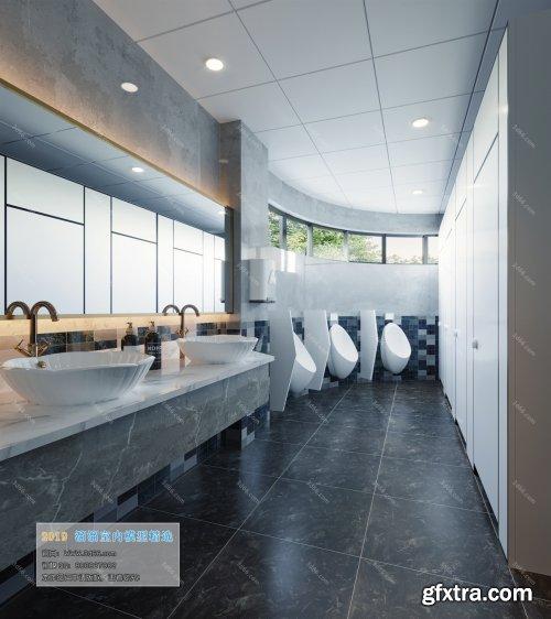 Modern Style Bathroom 38 (2019)