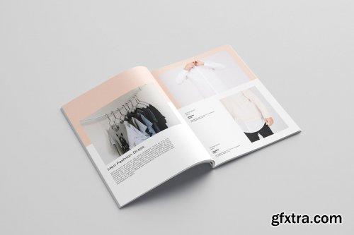CreativeMarket - Fashion Lookbook Template 4095241