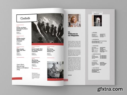CreativeMarket - Epoch - Magaizine Template 4079116
