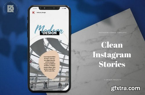 Instagram Stories Clean Pack