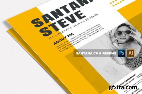 Santana | CV & Resume