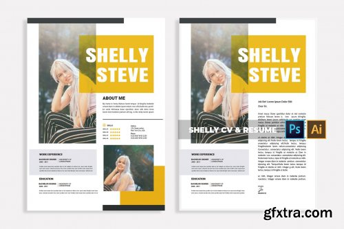 Shelly | CV & Resume