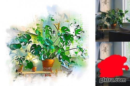 CreativeMarket - Painting Photoshop Action 4095053