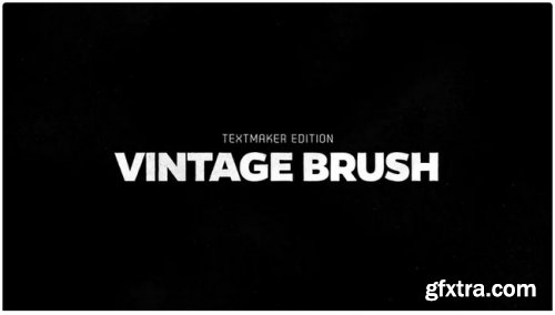 Titles Animator - Vintage Brush - After Effects 284642