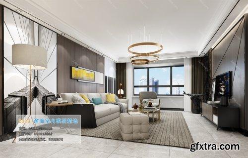 Modern Style Livingroom 129 (2019)