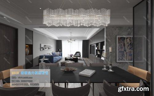 Modern Style Livingroom 132 (2019)