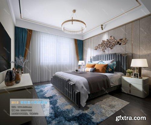 Modern Style Bedroom 107 (2019)