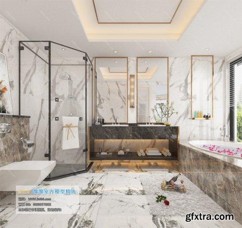 Modern Style Bathroom 43 (2019)