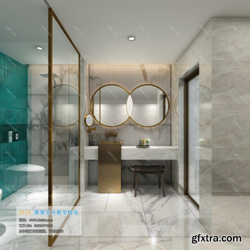Modern Style Bathroom 44 (2019)
