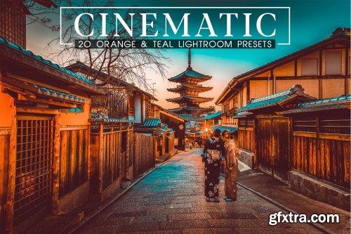 CreativeMarket - Cinematic Orange and Teal LR Presets 4100529