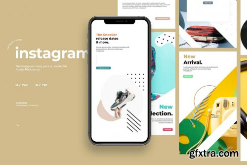 12 Promo Instagram Story Template