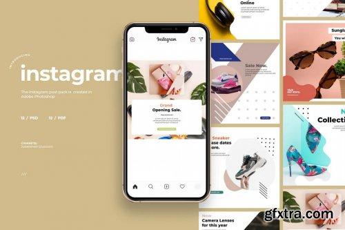 12 Promo Instagram Post Template