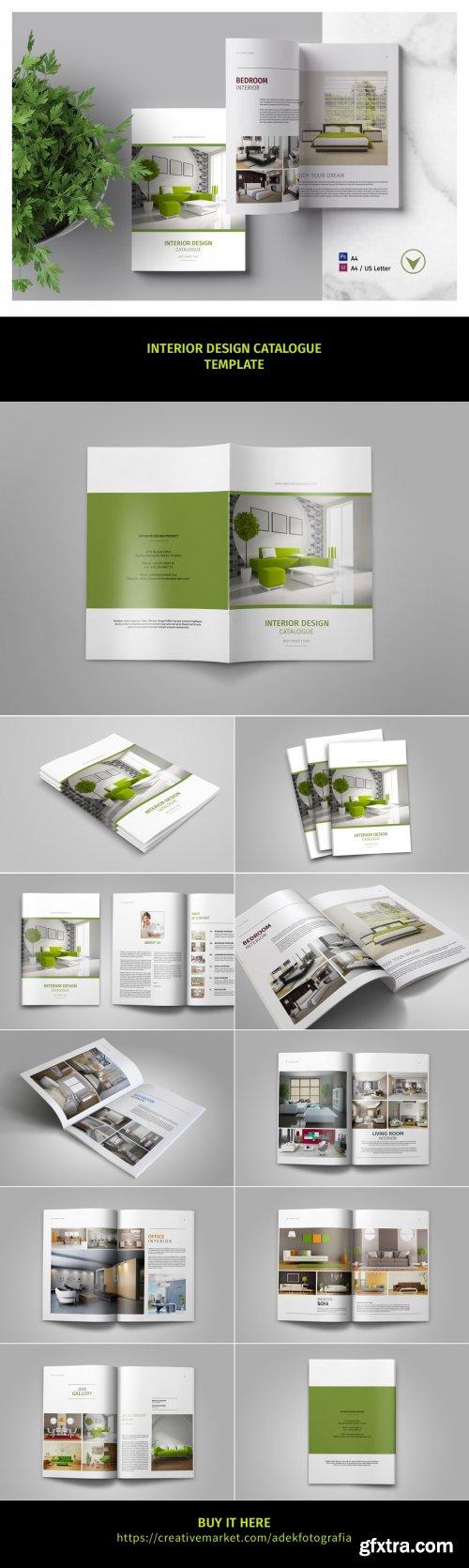 CreativeMarket - Brochure Catalog 4117818