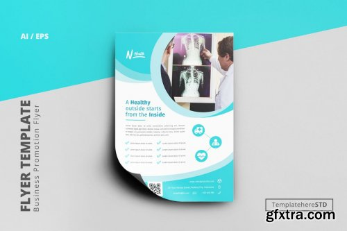 Healthy Business Flyer Template