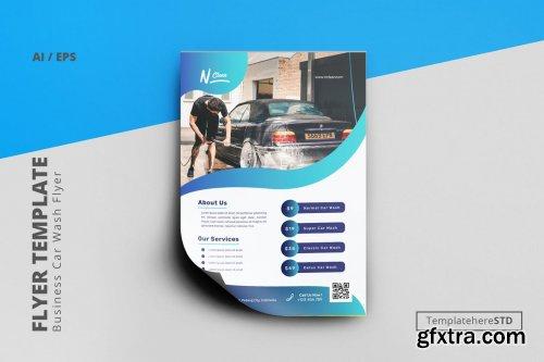Multipurpose Car Wash Flyer Template