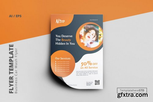 Promo Business Flyer Template
