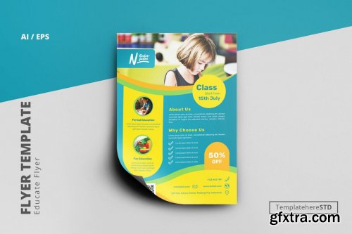 Educate Business Flyer Template