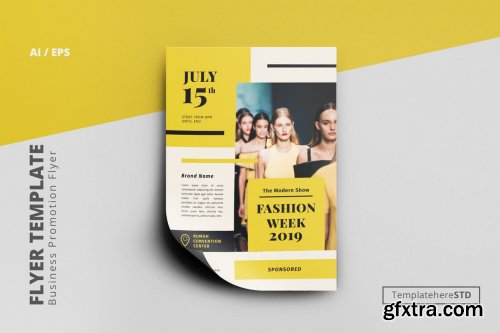 Fashion Promo Flyer Template