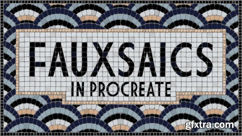 Fauxsaics in Procreate: Make A Typographic Mosaic