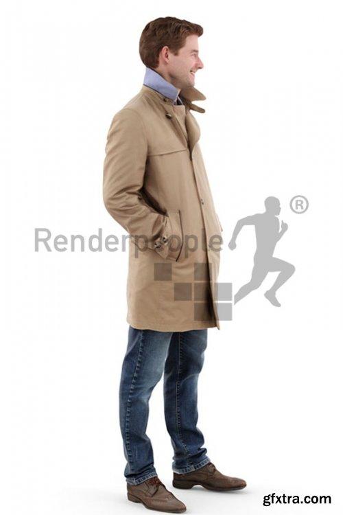 John Posed 001 3d model