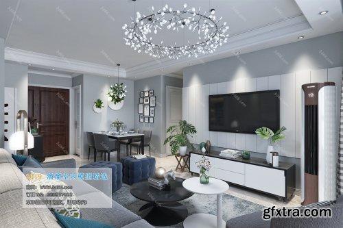 Modern Style Livingroom 144 (2019)