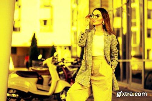 CreativeMarket - Yellow Color Look Action 4111727