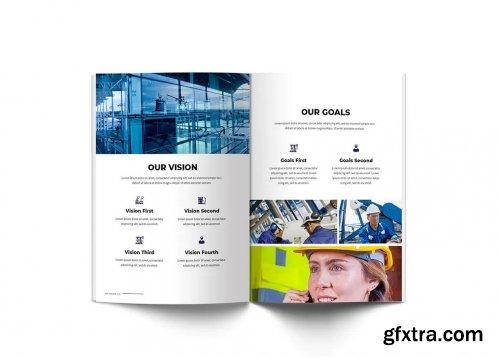 Oil & Gas A4 Brochure Template