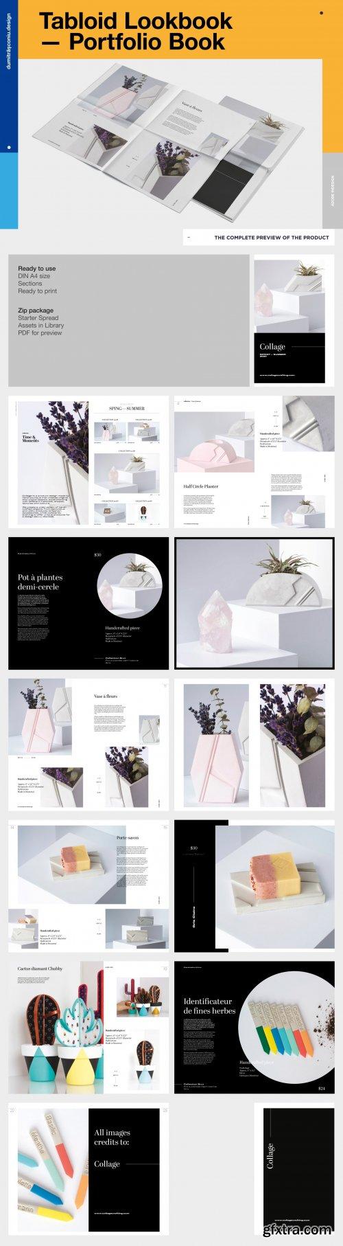 CreativeMarket - Tabloid Lookbook / Portfolio 4127826