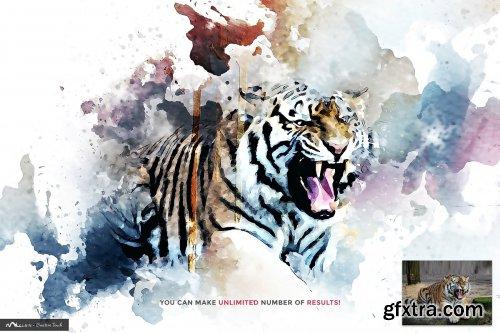 CreativeMarket - Digital Painting | PS Action 4066771