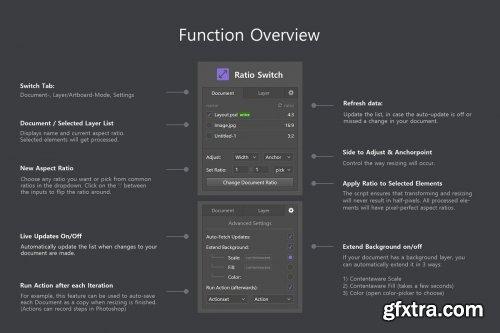 CreativeMarket - Ratio Switch - Format Change Kit 4137948