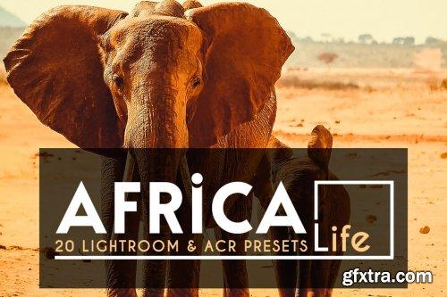 CreativeMarket - 20 Africa Life Lightroom &ACR Preset 4118145
