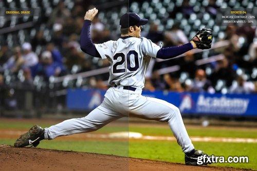 CreativeMarket - Sports Photoshop Action 4113635