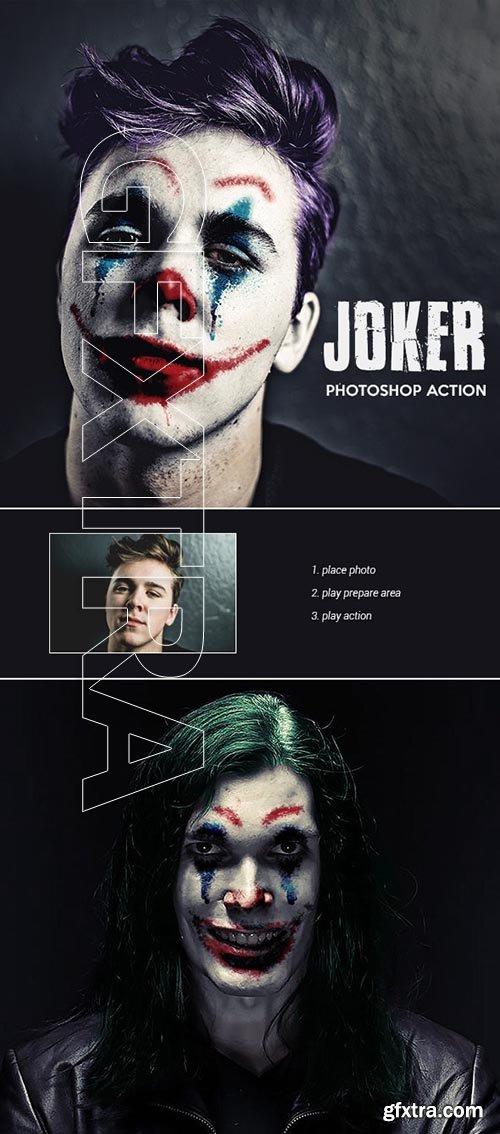 GraphicRiver - Joker - Photoshop Action 24686406