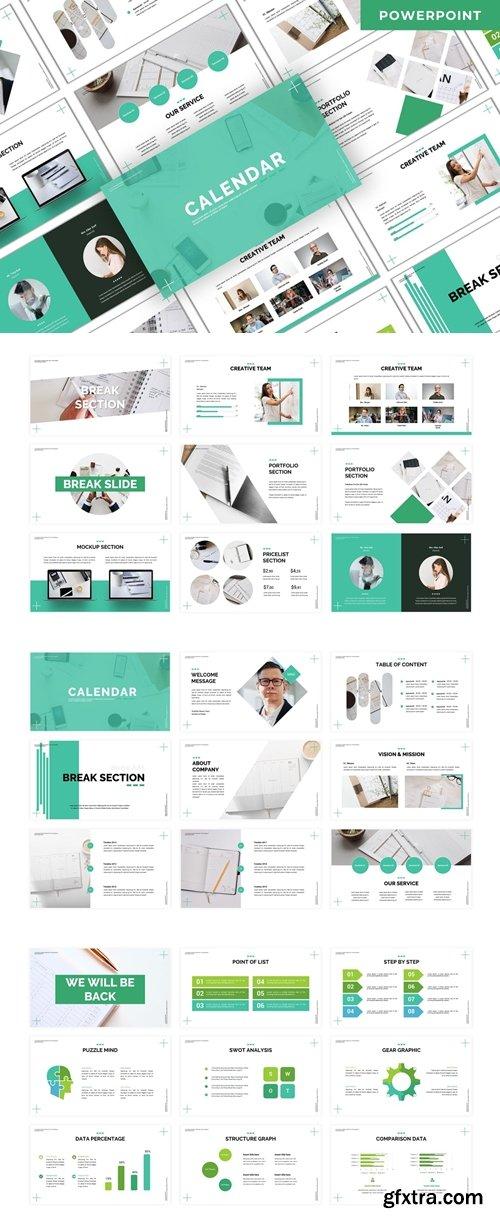 Calendar - Business Powerpoint Template